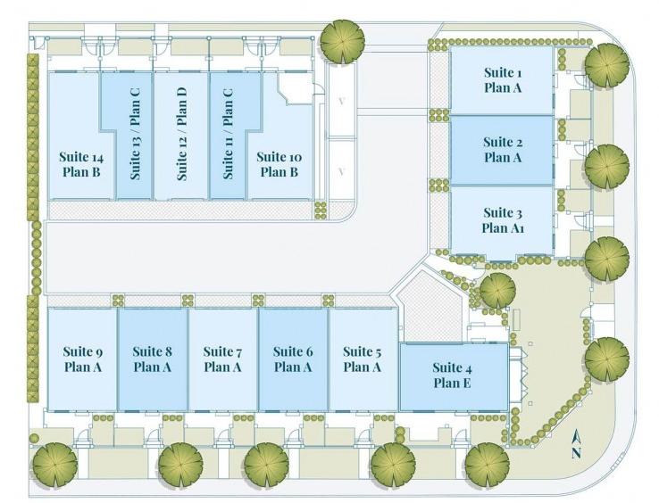 Aura delta Siteplan