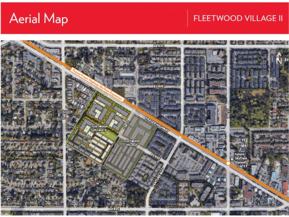 Fleetwood Village II Aerial Map
