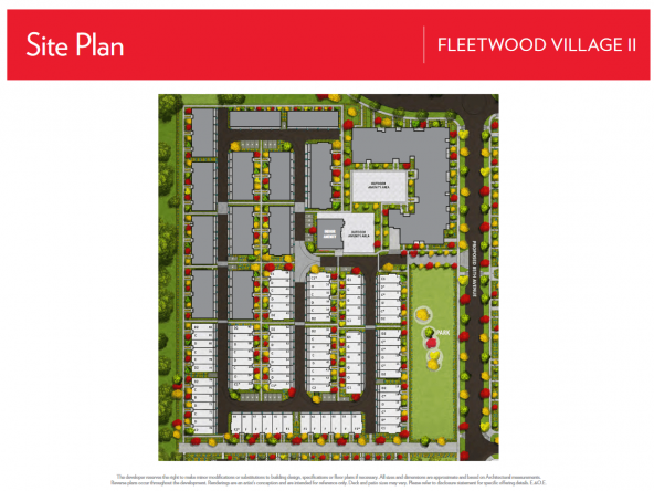 Fleetwood Village II Site Plan