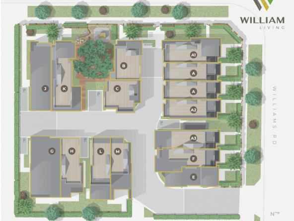 Williams Living Richmond SitePlan