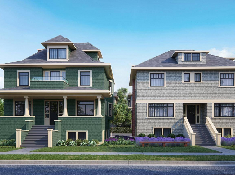 campbell residences vancouver townhouse 1