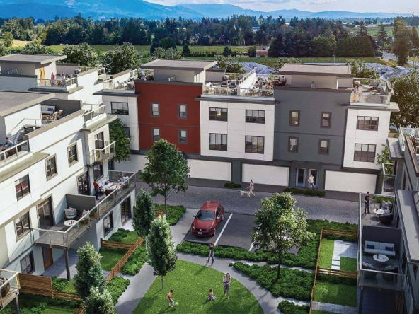 cinema district townhomes abbotsford 1
