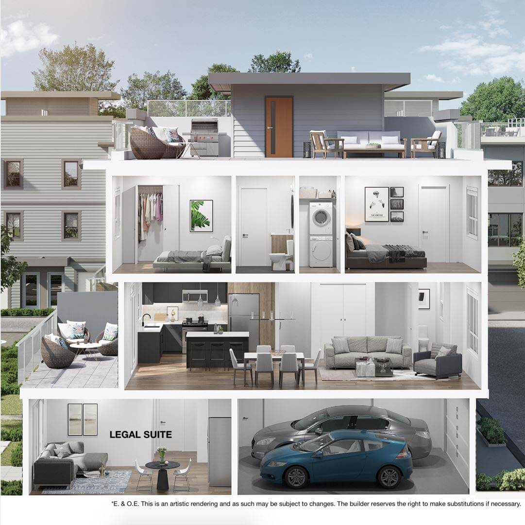 cinema district townhomes abbotsford 2