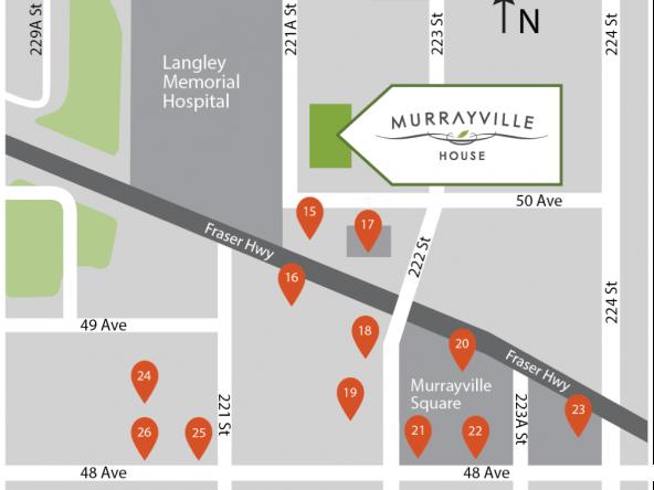 murrayville house langley location map