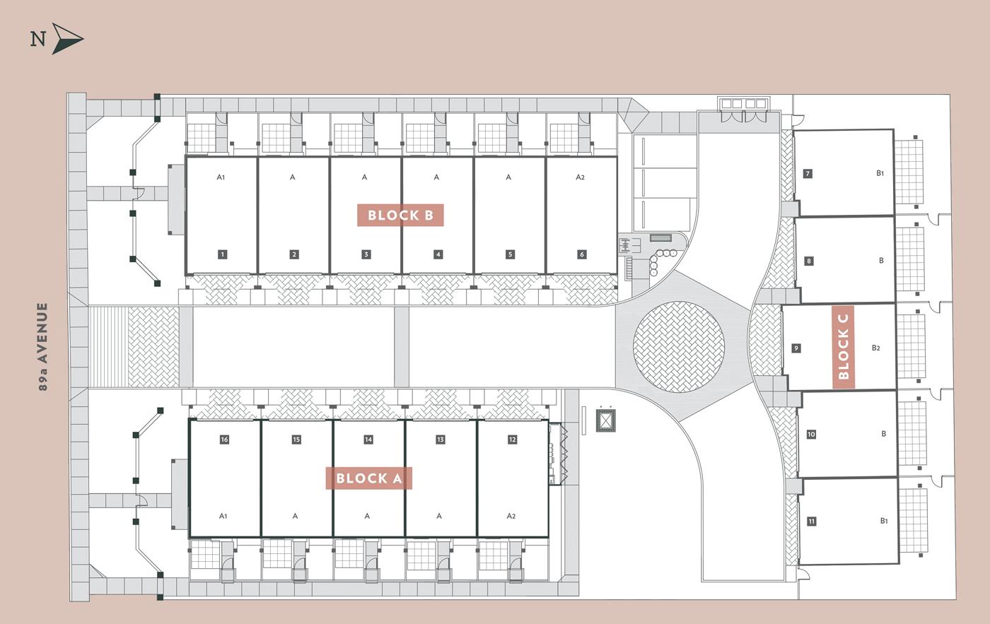 oak terrace delta siteplan