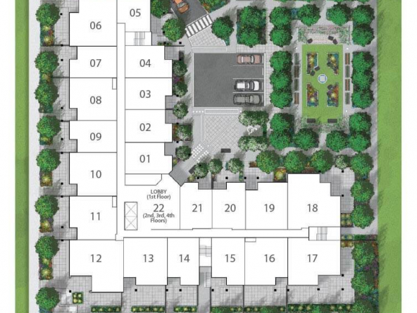 onyx abbotsford site plan