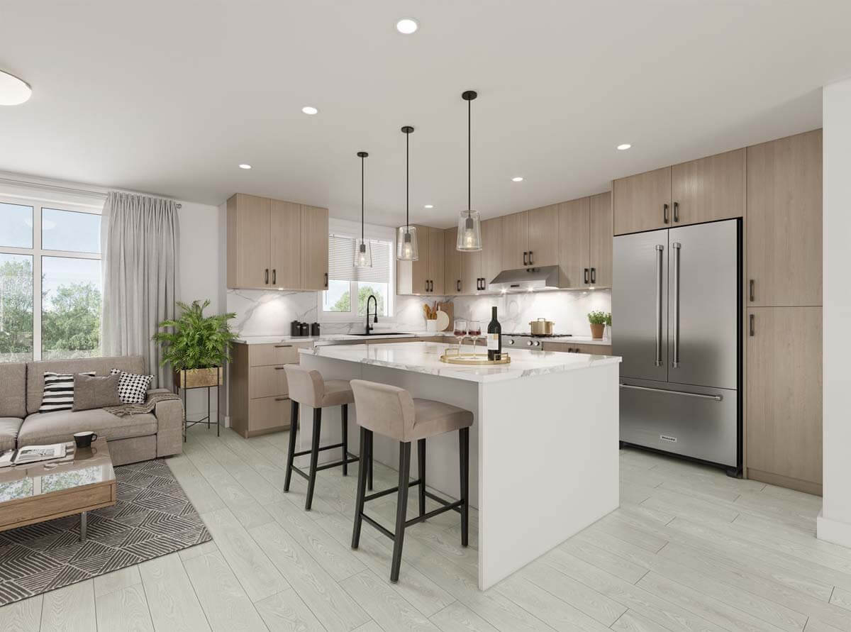 oxford new west townhomes 4
