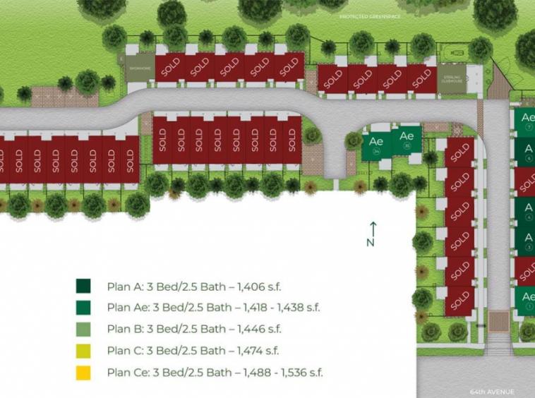 sterling townhomes sullivan surrey siteplan 1024x630 1