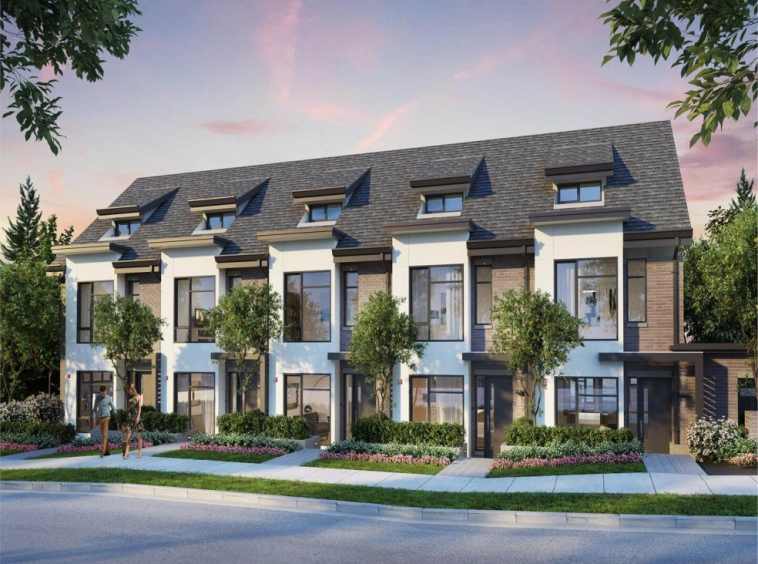 the oak vancouver townhomes 1