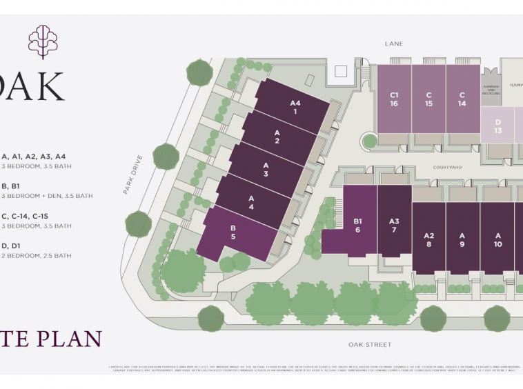 the oak vancouver townhomes 2