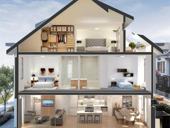 the oak vancouver townhomes 4
