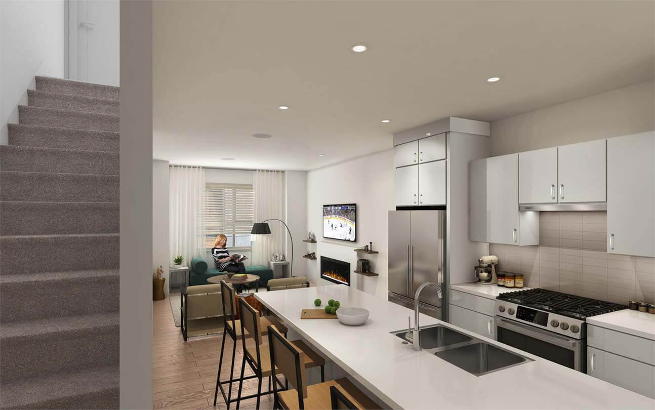 the terraces three langley townhomes 11