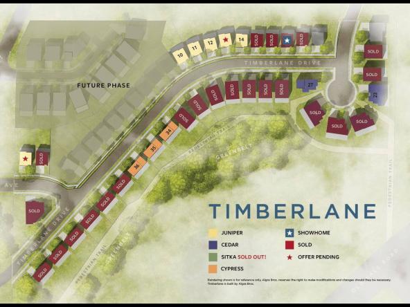 timberlane homes abbotsford SitePlan