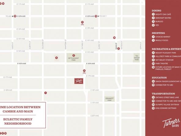 turners dairy vancouver neighbourhood map