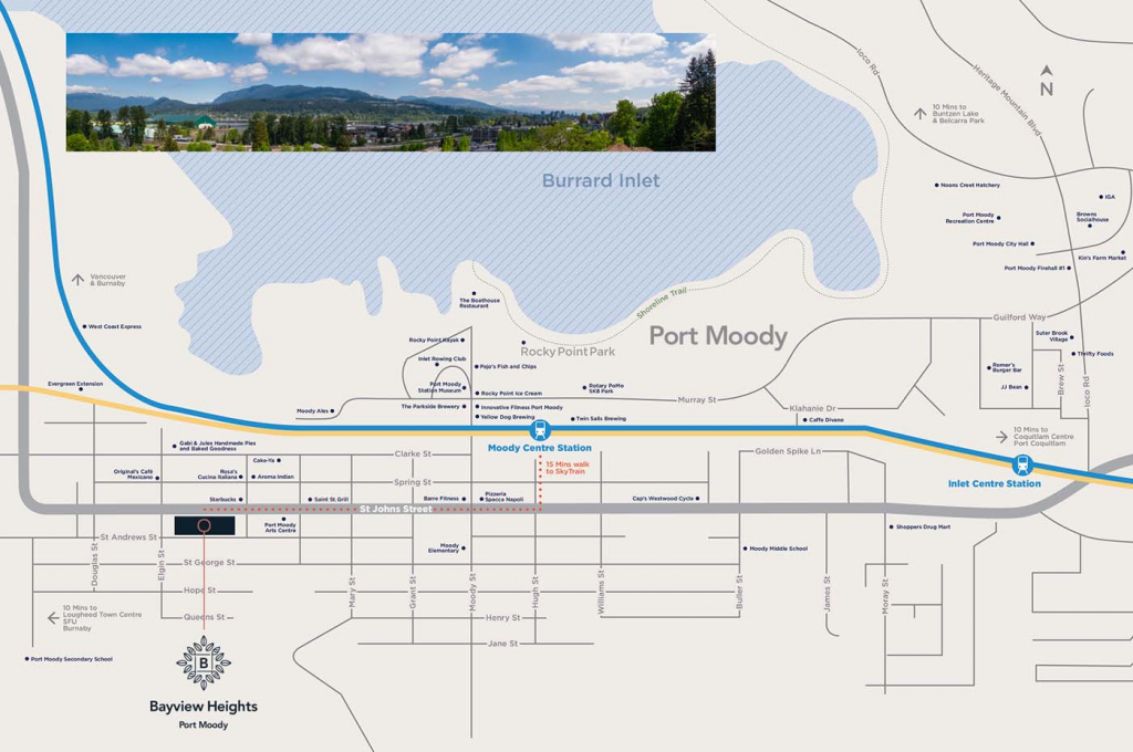 bayview heights condos port moody map 1024x680 1